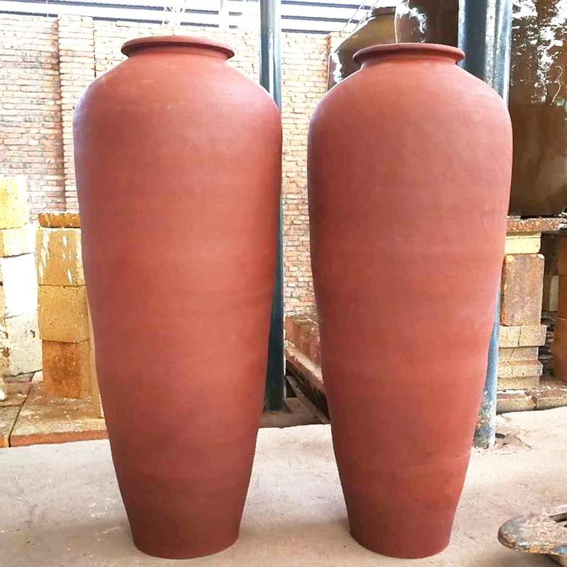 马高花瓶  土陶工艺品